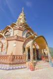 Pha Pha dolt exponeringsglas (Wat Pha Kaew) Royaltyfri Fotografi