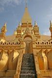 Pha que Luang Fotografia de Stock Royalty Free