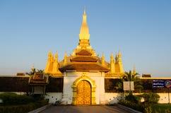 Pha que Luang Imágenes de archivo libres de regalías