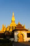 Pha que Luang Foto de Stock Royalty Free