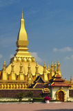 Pha que Luang Fotos de Stock Royalty Free