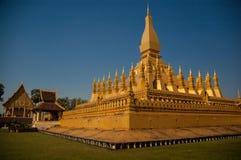Pha que Luang Foto de archivo libre de regalías