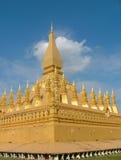 Pha que Luang, Laos Fotografia de Stock