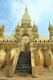 Pha qui Luang, Vientian, Loas Photos stock