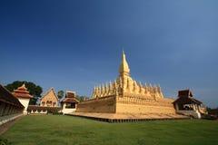 Pha som Luang Arkivfoto