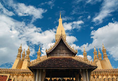 Pha som Luang arkivfoton