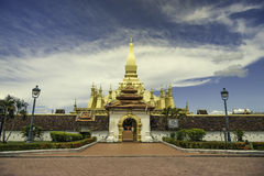 Pha som Luang Royaltyfri Bild