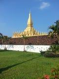 Pha som Luang stupa i Vientiane, Laos Royaltyfri Foto