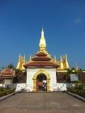 Pha som Luang stupa i Vientiane, Laos Royaltyfria Foton