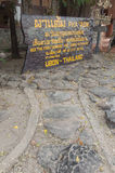 Pha Taem National Park Royalty Free Stock Images