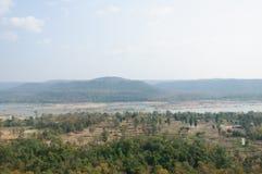 Pha Taem National Park, Ubon Ratchathani province ,Thailand Stock Image