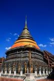 Pha tat je-di luang en el lampang, Tailandia Foto de archivo libre de regalías