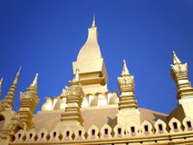 Pha Tat Luang Vientiane LAOS Stock Photography