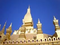 Pha Tat Luang Vientiane LAOS Stock Photography