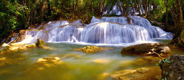 Pha Tat Waterfall Stock Photography