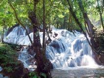 Pha Tat Waterfall Arkivfoton