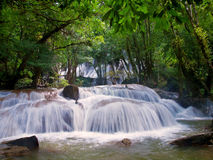 Pha Tat Waterfall Royalty Free Stock Photo