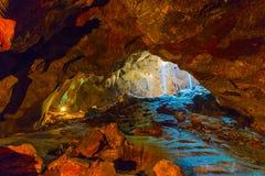 Pha thailändsk grotta Arkivbild