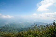 Pha Tung Mountain, Chiang Rai, Thailand Royaltyfri Foto