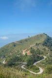 Pha Tung Mountain, Chiang Rai, Thailand Royaltyfria Bilder