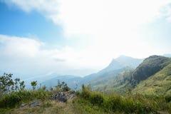 Pha Tung Mountain, Chiang Rai, Thailand Royaltyfria Foton