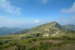 Pha Tung Mountain, Chiang Rai, Thailand Royaltyfri Fotografi