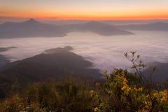 Pha Tung Mountain Stock Image