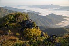 Pha Tung Mountain Stock Photo