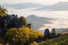 Pha Tung Mountain Royalty Free Stock Photos
