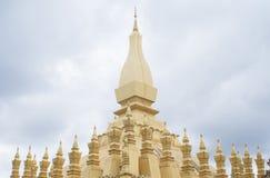 pha vientiane luang Лаоса Стоковая Фотография