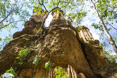 Phachor in Doi Lo  Chiangmai , Grand Canyon National Park, Thai Royalty Free Stock Photography