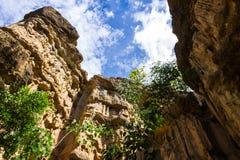 Phachor in Doi Lo Chiangmai, het Nationale Thaise Park van Grand Canyon, Stock Foto