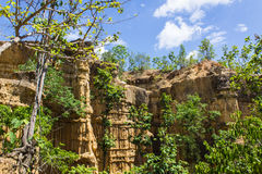 Phachor Grand Canyon National Park, Thail Royalty Free Stock Photos