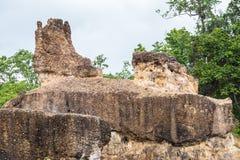 Phachor tourist attraction Mae Wang National Park chiangmai Royalty Free Stock Image
