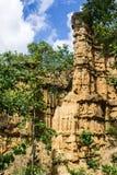 Phachor w Doi Lo Chiangmai, Uroczystego jaru park narodowy, Tajlandzki Zdjęcie Stock