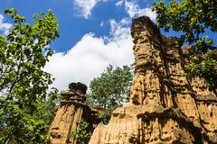 Phachor w Doi Lo Chiangmai, Uroczystego jaru park narodowy, Thail Zdjęcie Stock