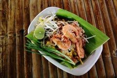 Phad thaï Image libre de droits