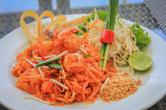 Phad Thai Royalty Free Stock Photography