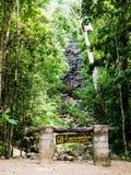 Phaeng Noi vattenfall på än den Sadet nationalparken på Koh Phanagn, Royaltyfria Foton