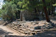 Phaeslis Antique City, Turkey Stock Photography