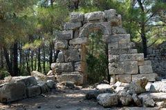 Phaeslis Antique City, Turkey Royalty Free Stock Photo