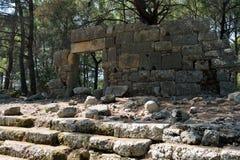 Phaeslis Antique City, Turkey Royalty Free Stock Image