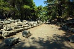 Phaeslis Antique City, Turkey Royalty Free Stock Photography