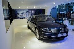 Phaeton de Volkswagen, 2014 CDMS Imagens de Stock Royalty Free