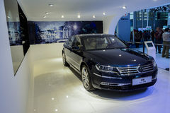 Phaeton von Volkswagen, 2014 CDMS Lizenzfreie Stockbilder