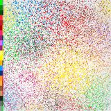 Phagwa festival colors confetti design. Phagwa festival color confetti tinsel sequin design. Abstract small multicolor sand. Fireworks on white background. Many Royalty Free Stock Image