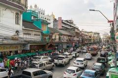 Phahurat la piccola India della Tailandia Fotografie Stock Libere da Diritti