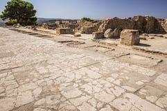 Phaistos宫殿 库存图片
