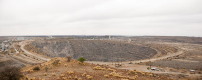 Phalaborwa mine panorama Royalty Free Stock Images