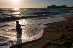 Phalassarna Beach Stock Images